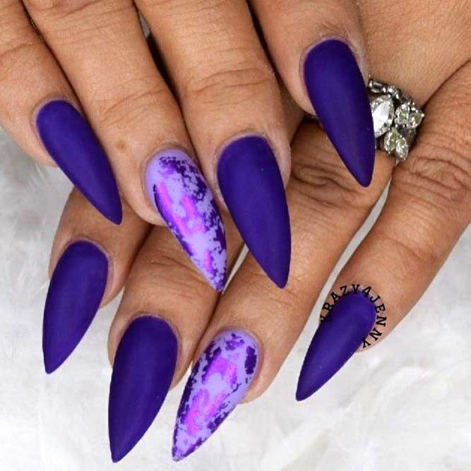 20+ Trendy Purple Nails Looks To Consider | NailDesignsJournal.com