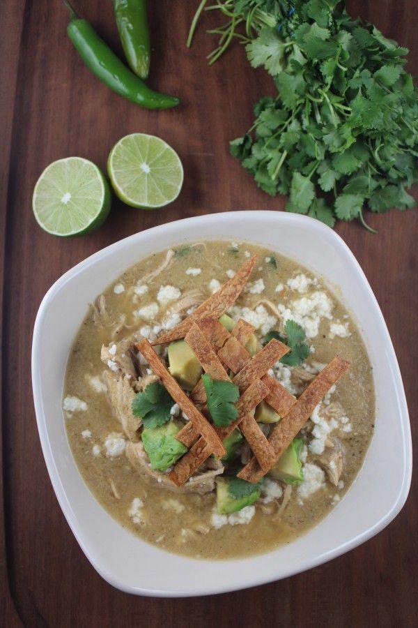 Chicken Enchilada Soup Recipe #CincoDeMayo