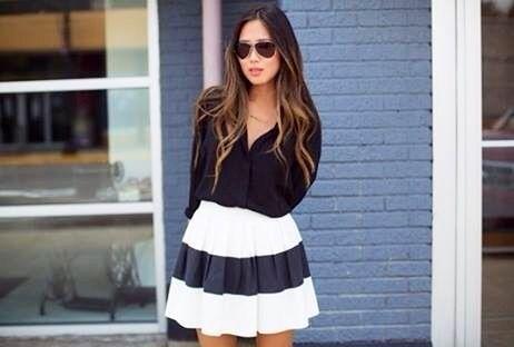 Linda! Clássico preto e branco