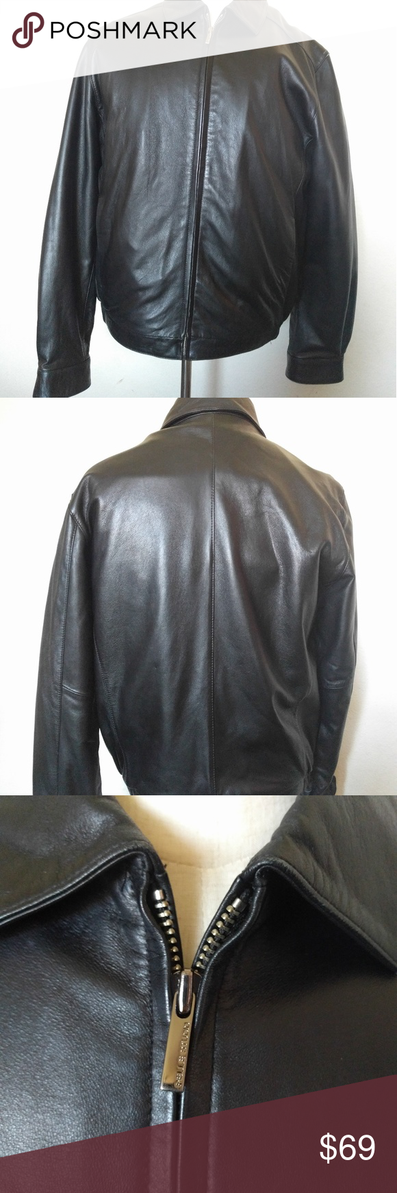 Wilsons leather Pelle studio medium leather jacket Wilson