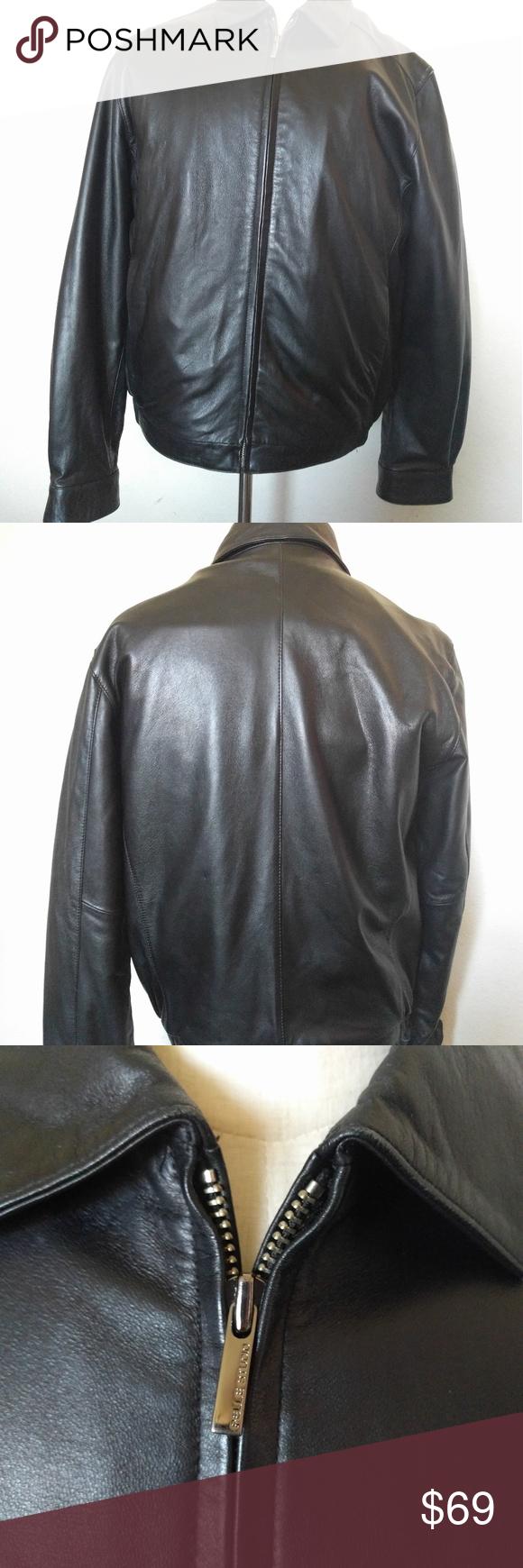 Wilsons leather Pelle studio medium leather jacket Wilson
