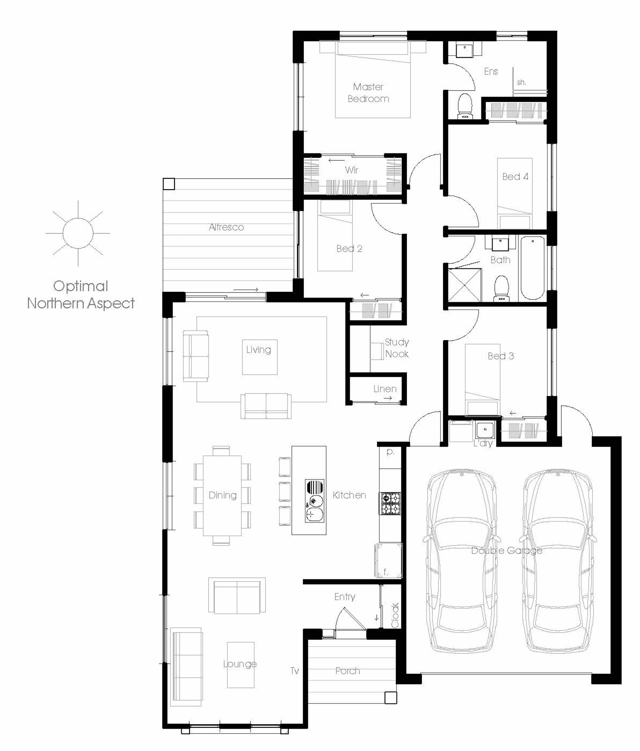 Small Efficient House Plans Arsitektur Rumah Pedesaan Arsitektur Rumah