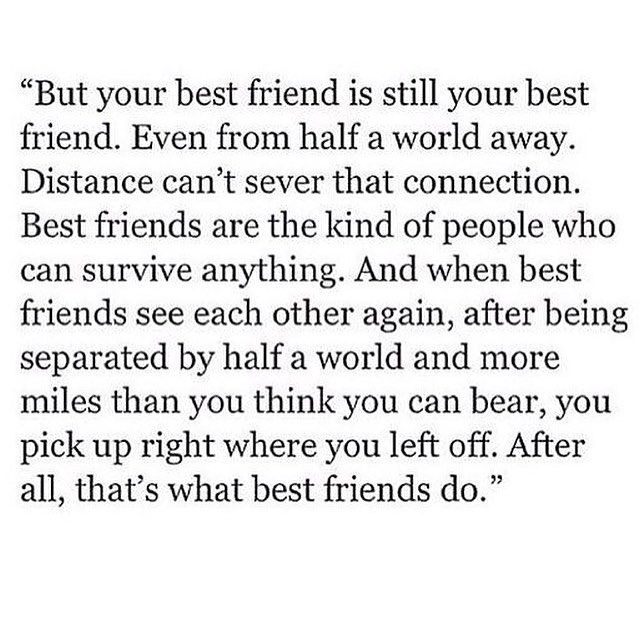Best Friend Quotes For Her: Friend Quotes Distance