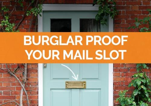 9 Ways To Help Burglar Proof Your Mail Slot Safewise Mail Slots Burglar Proof Slot