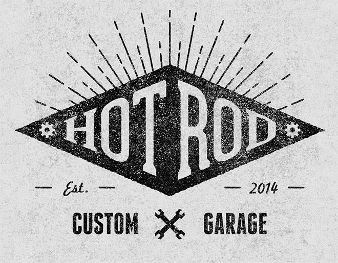 Three ways to add textures to vintage logos type designs ccuart Choice Image