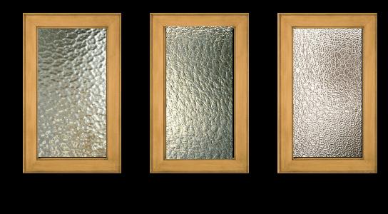 Aquatex Granite Winter Vue Glass Glass Cabinet Doors