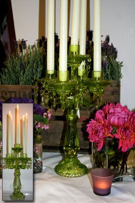 Candelabra, Candle and Flower Stands