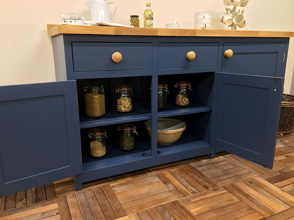 Pin On Hand Made Solid Wood Freestanding Kitchen Cupboards