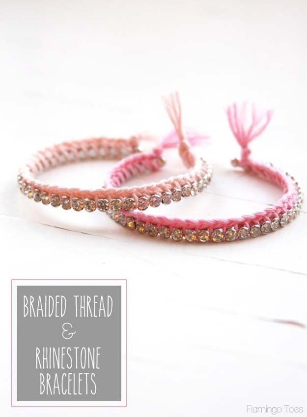 47 DIY Bracelets You Could Be Wearing By Tomorrow | Easy diy gifts ...