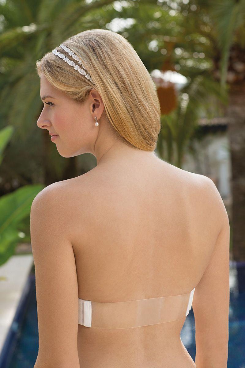 Unser neuer BH... Genial für Kleider mit tiefem Rücken oder ...