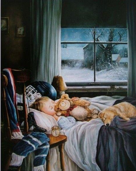 Sweet Dreams Moonbeams Shirley Deaville Art Children Illustration Childrens Illustrations