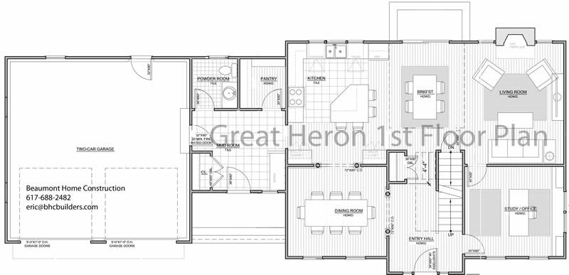 colonial open floor plans - Google Search