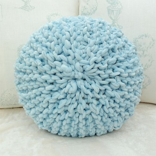 Round pillow pattern by Craft me Happy