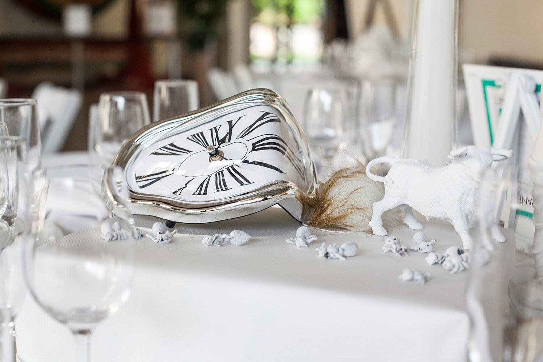Salvador Dali Inspired Surrealist Wedding: Demi & Steven | white art ...