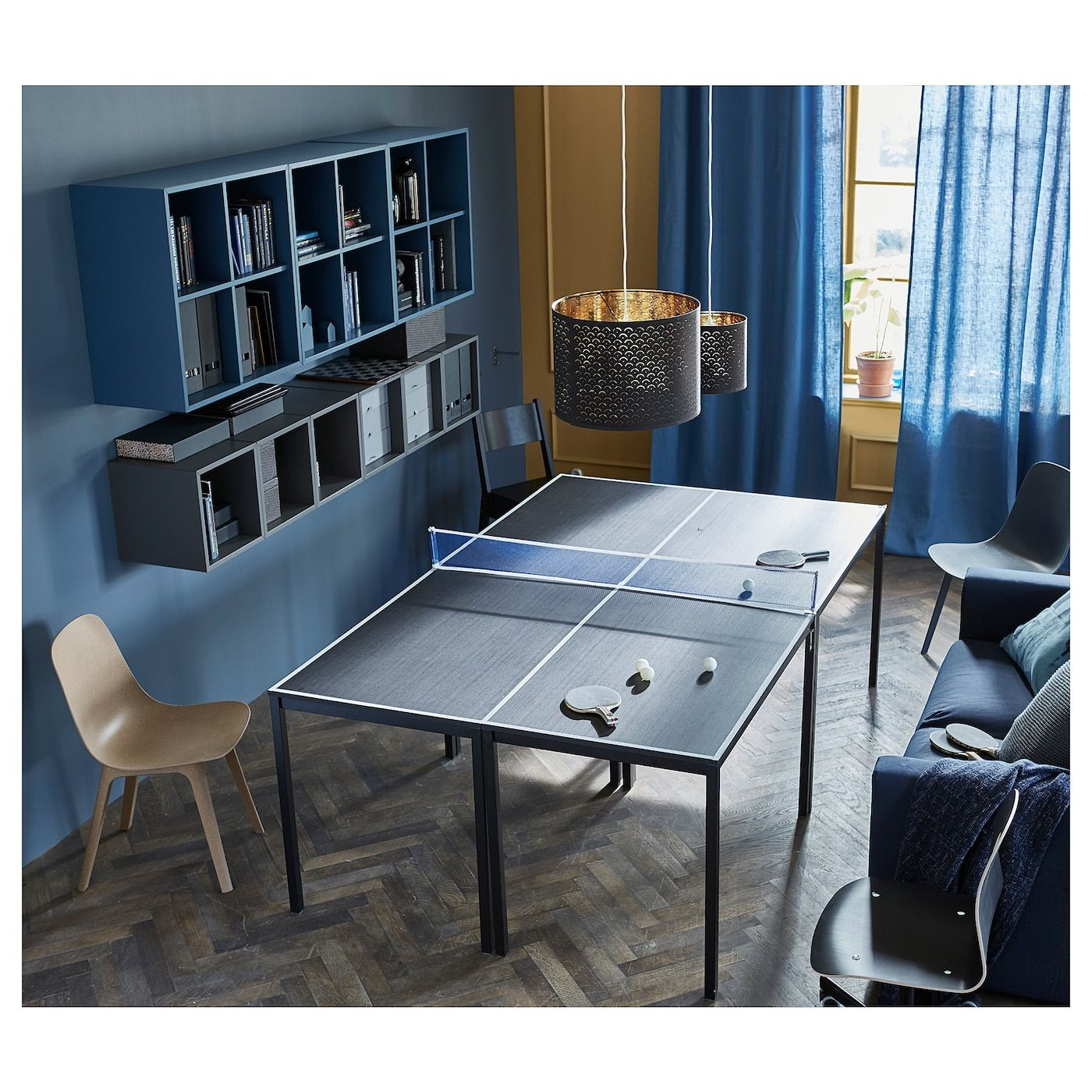 Tarendo Table Black Ikea Dining Room Design Table Tennis
