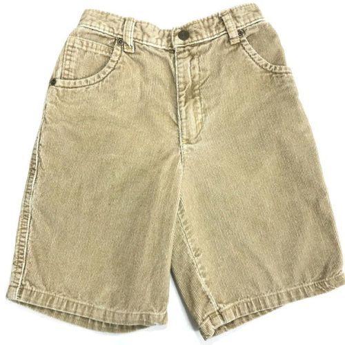 d6ee0e61eab6 Vintage-Bugle-Boy-Jean-Co-Shorts -Corduroy-Beige-Sz-7-Elastic-Waist-100-Cotton