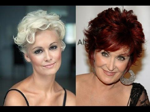 popular short haircuts for women over 60 with thick hair