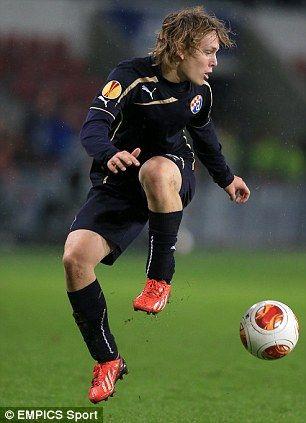 Alen Halilovic Of Dinamo Zagreb Gnk Dinamo Zagreb Soccer Zagreb