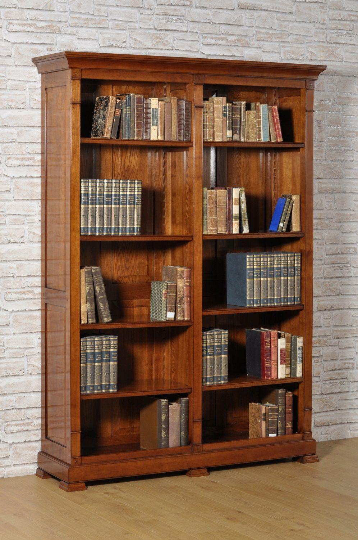 Ripiani Legno Su Misura.Libreria Riprodotta Su Misura In Stile Direttorio 800 Con Due