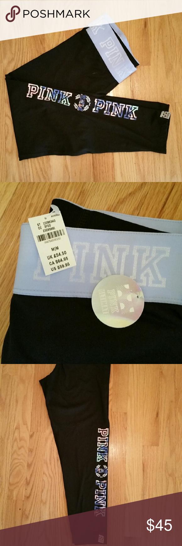 Pink victoria secret leggings.  NWT Pink victoria secret leggings.  NWT PINK Victoria's Secret Pants Leggings