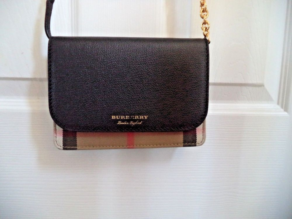 b836736a5bf1 Burberry small haymarket check crossbody clutch bag made in Italy  fashion   clothing  shoes