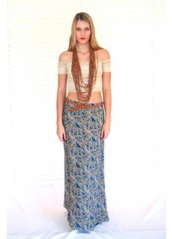 #Pemba Boutique           #Skirt                    #Maxi #Skirt #Ripple #Design                        Maxi Skirt Ripple Design                            http://www.seapai.com/product.aspx?PID=197362