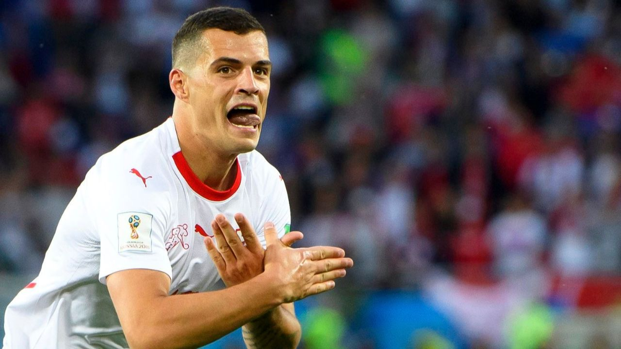 Fussball Wm 2018 Schweiz Sieg Dank Xherdan Shaqiri Und Granit Xhaka
