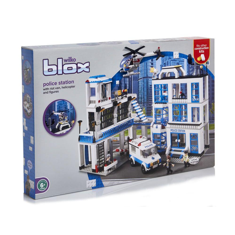 Blox Police Station Mega Set Police Station Police Construction
