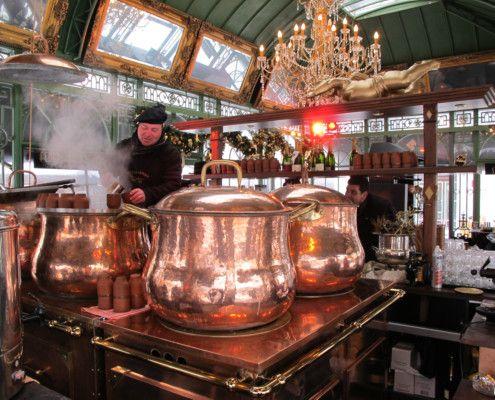Stunning, huge copper pots!
