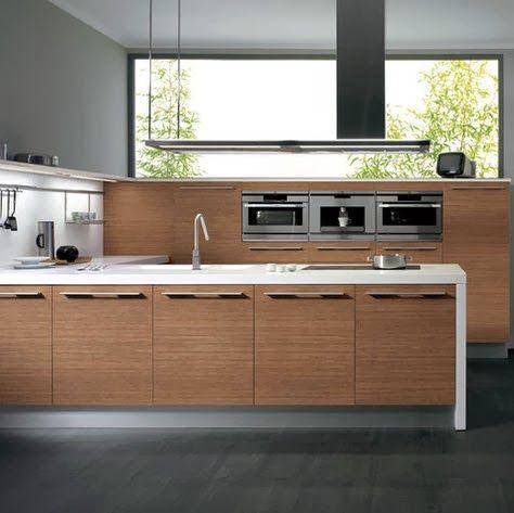 Kuali cocinas dise o de mueble de cocina de madera for Modelos de gabinetes de cocina