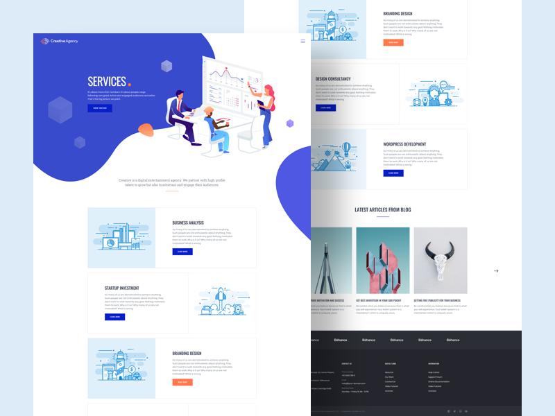 Creative Agency Services Web Design Creative Agency Web Design Tips
