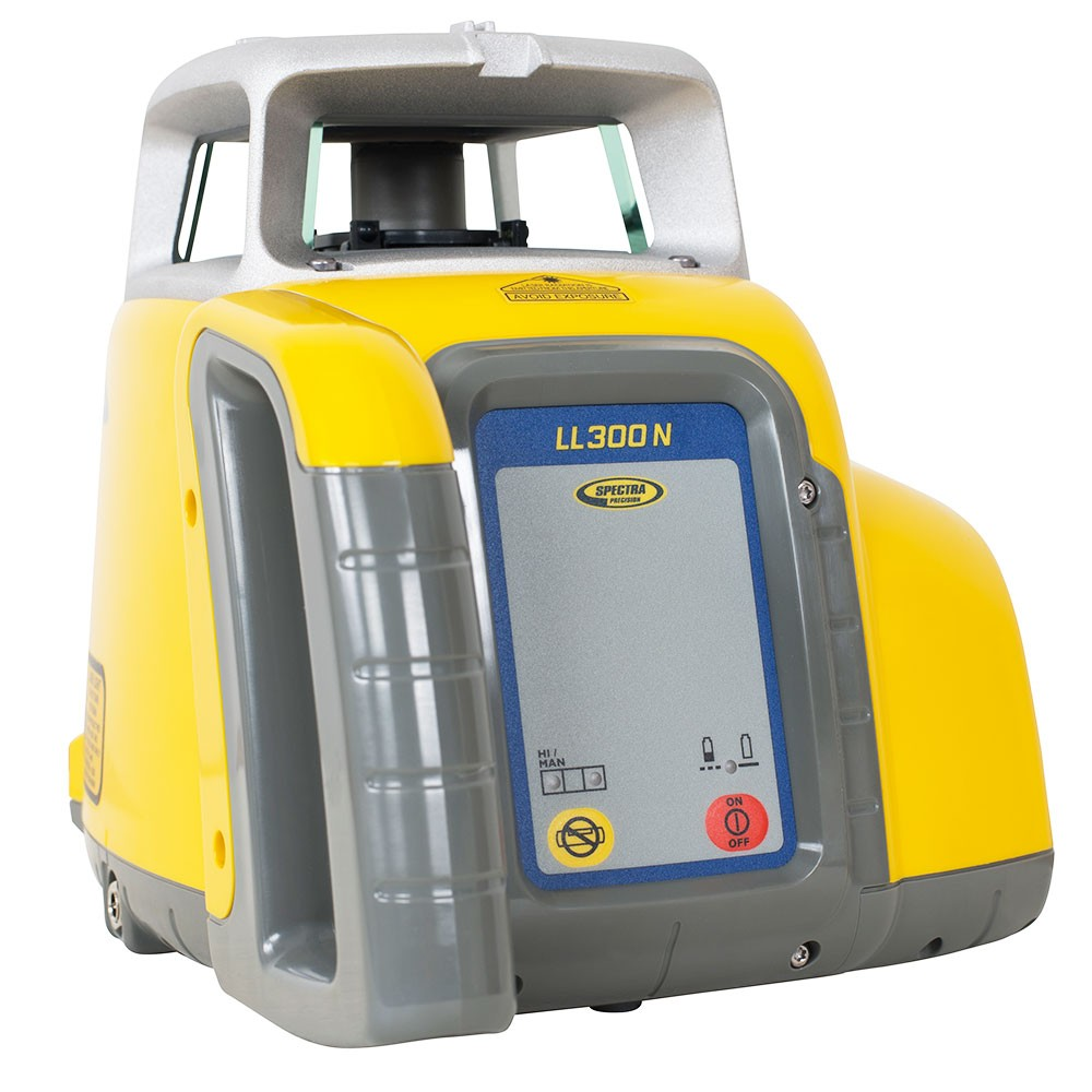 Spectra Ll300n Outdoor Led Receiver Rod Clamp Long Range Laser Level Leveling Concrete Forms Laser Levels Septic Tank