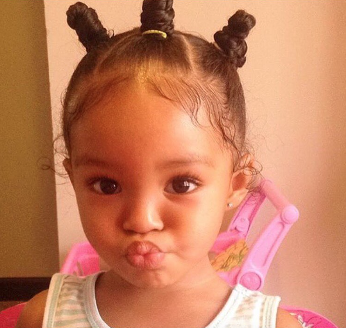 adorable baby bantu knots @justice.bryanna - http://community
