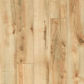 Style Selections 5 23 In W X 47 16 In L Rustic Honey Maple