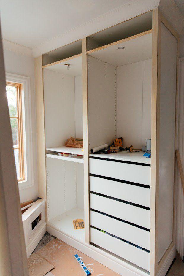 IKEA PAX hack: Hands down the most stunning walk-in closet