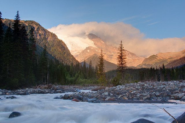 White River at MT. Rainier