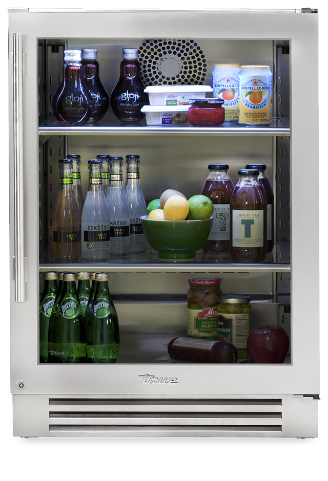 True Residential Undercounter Refrigerator 24 Series Stainless Gl
