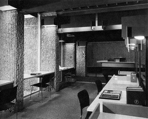 Christian Science Building - Interior 02 - Paul Rudolph
