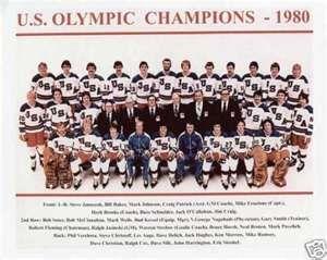 1980 Miracle On Ice Us Hockey Team Olympic Hockey Team Usa Hockey