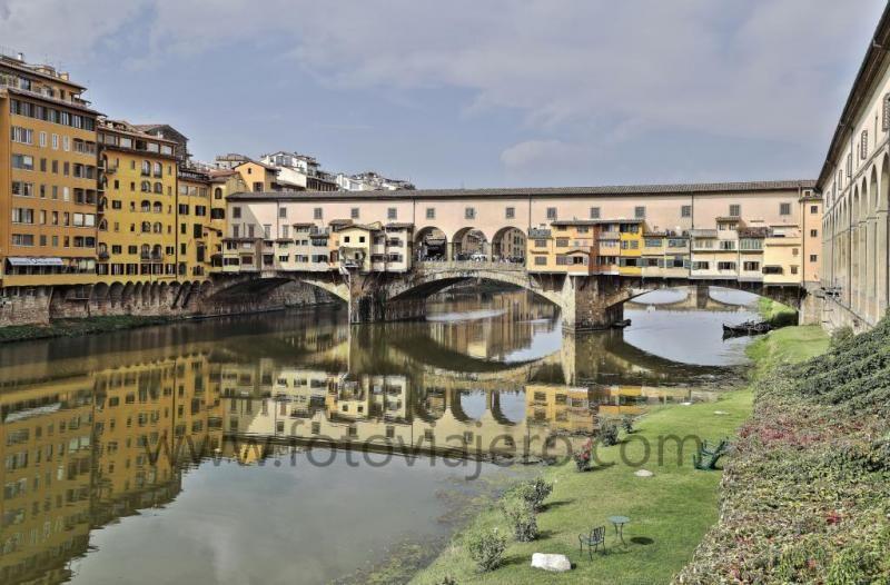 Ponte Vecchio - Florencia, Italia #pontevecchio #firenze #florencia #arno #toscana #tuscany #italia