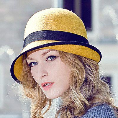 56cd979b15c Ladies  Beautiful Wool Bowler Cloche Hat (196132490) in 2019