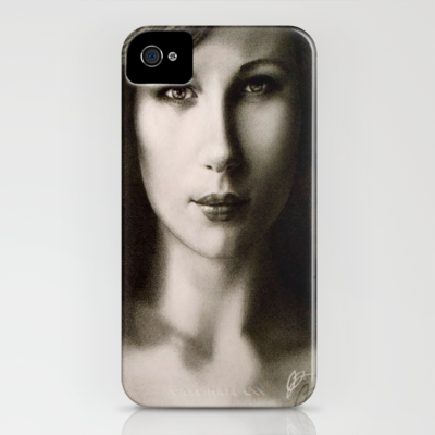 Katya iPhone Case by ARTBOYART.COM - $35.00