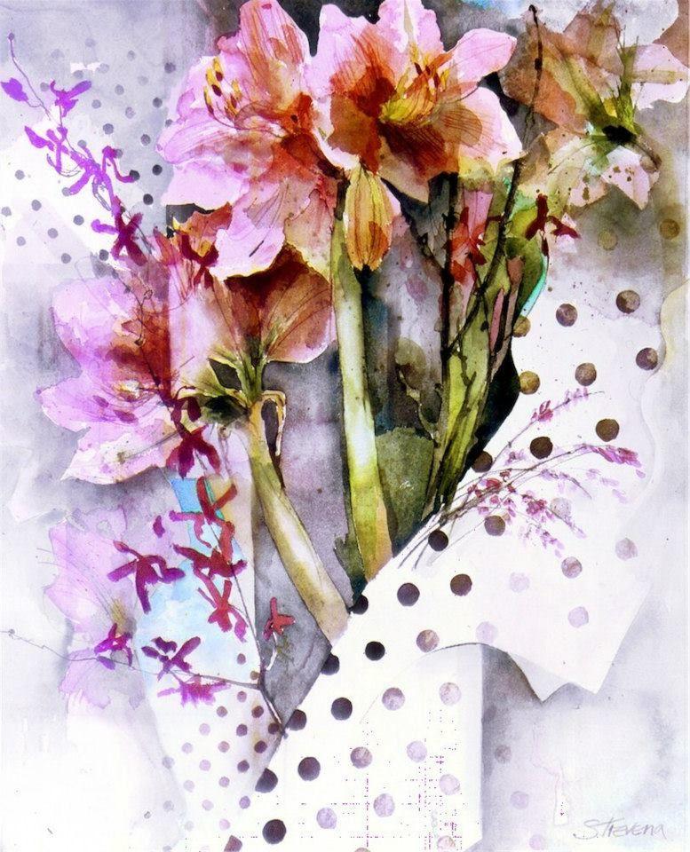 Epingle Par Maryvonne Clement Sur Shirley Trevena Peintures