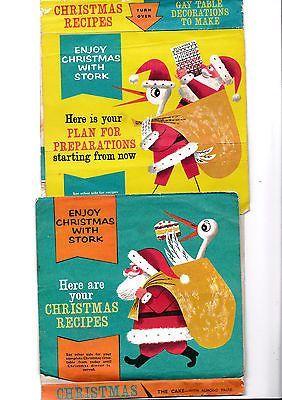 Stork Margarine Vintage advertising poster reproduction
