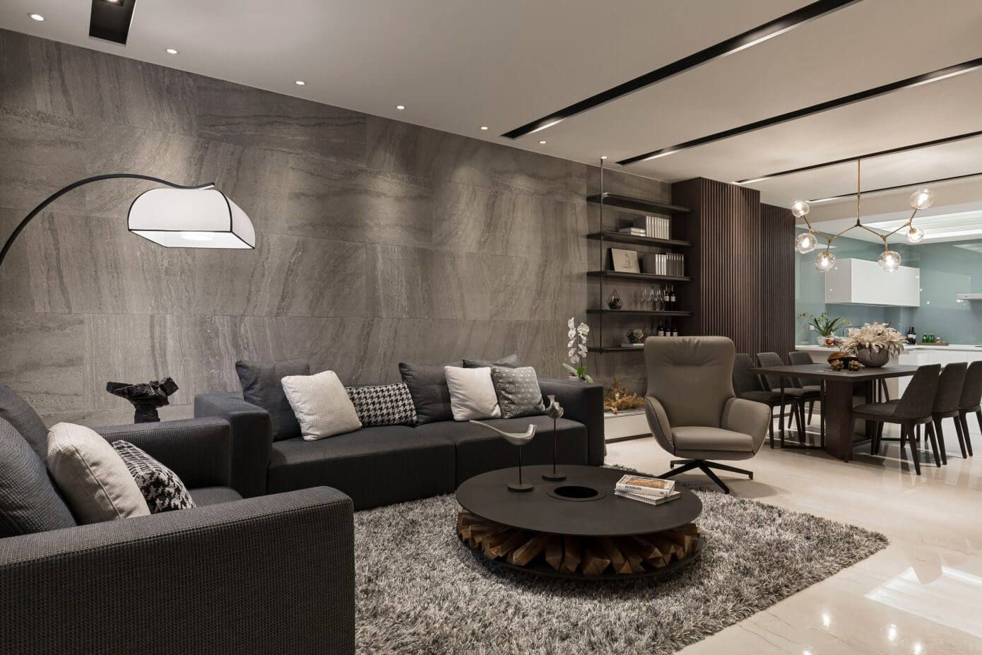Contemporary home by vattier design contemporary living rooms and
