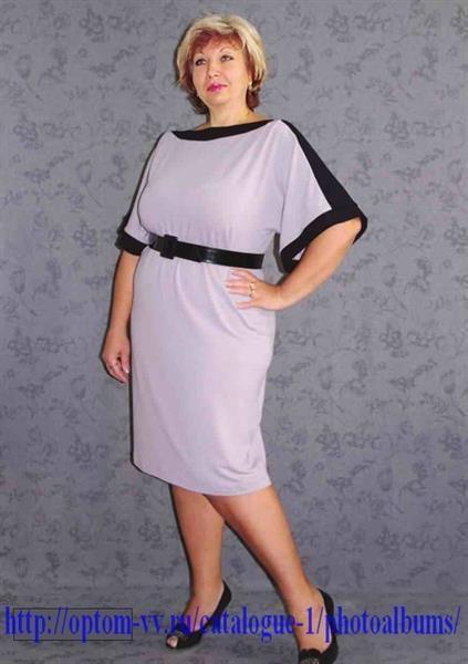 Нарядное женское платье для полных