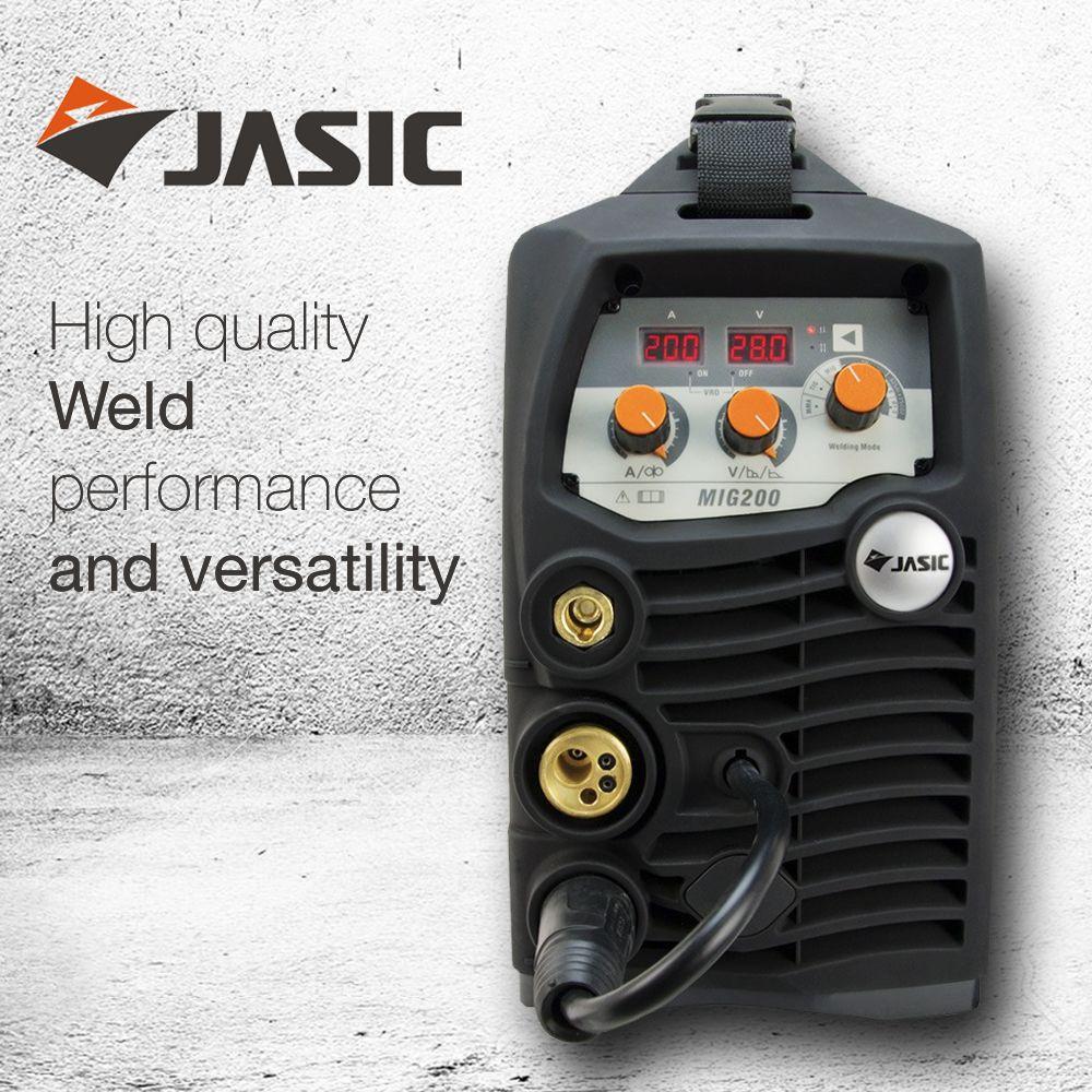 Jasic MIG 200 Synergic Compact Inverter | Jasic MIG Inverter Images ...