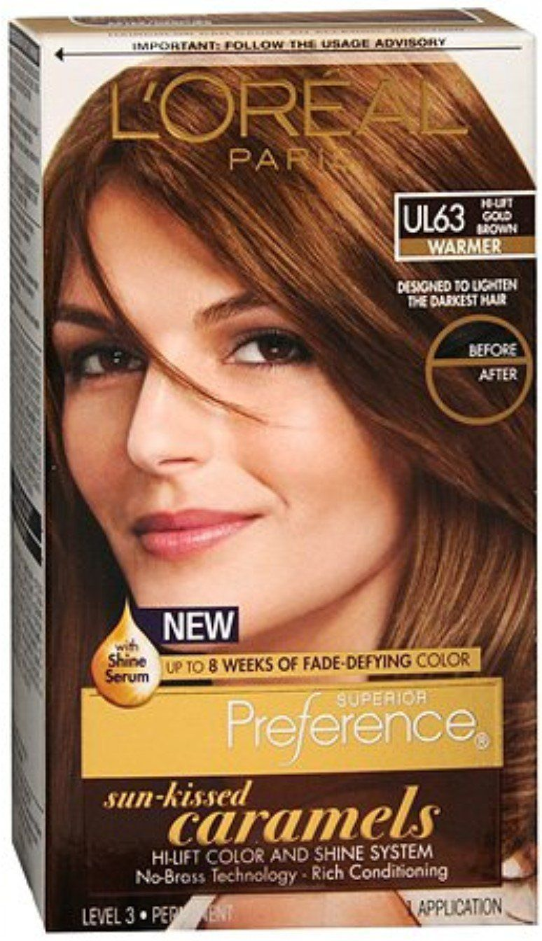 L Oreal Superior Preference Preference Sun Kissed Caramels Ul63