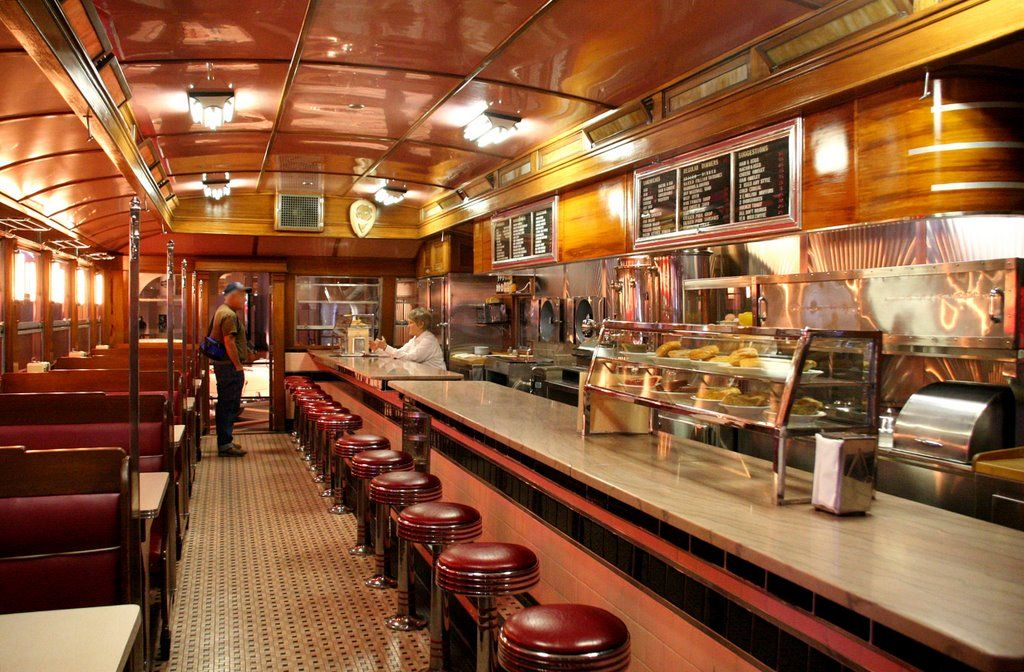 Panoramio Photo Of H Ford Museum Lamy S Diner Booth Service