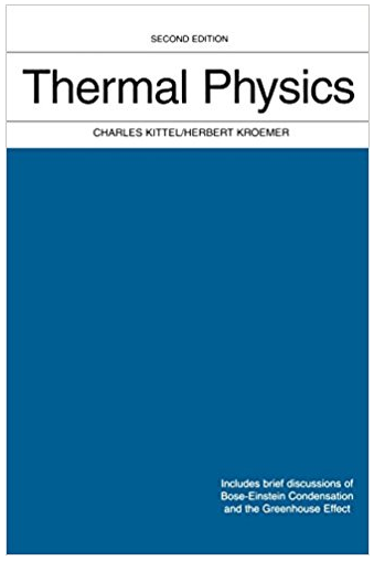 Thermal Physics 2nd Edition Charles Kittel Textbook Answers Physics Textbook Thermal